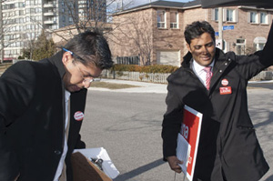 Canada Votes 2011: Tories challenging Liberal stronghold