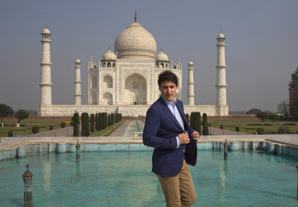 Trudeau's Taj Mahal poses overshadowed by frosty reception in India